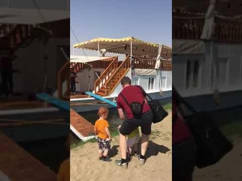 Boarding a dahabiya Nile cruise