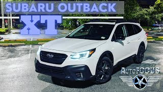 Subaru Outback XT 2020 - 3 Awesome qualities auto review