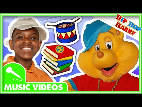 """Books To Read"" and More Kids Songs From Hip Hop Harry"