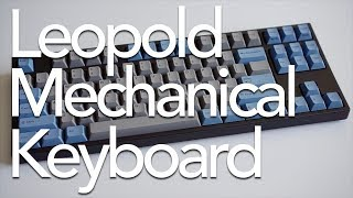 Leopold Mechanical Keyboard Review