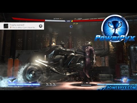 Injustice 2 - This Is Why I Can't Have Nice Things Trophy / Achievement Guide