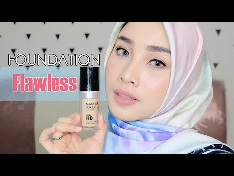 MAKE UP FOR EVER ULTRA HD FOUNDATION FIRST IMPRESSION, REVIEW + DEMO | SHADE Y245 | IRNA DEWI