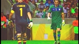 Iker Casillas vs Gianluigi Buffon ● Battle ● Best Save Show 2017 HD