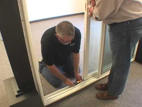 Roller Adjustment For Atrium Patio Doors Youtube