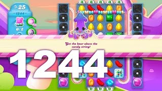 Candy Crush Soda Saga Level 1244 (No boosters)