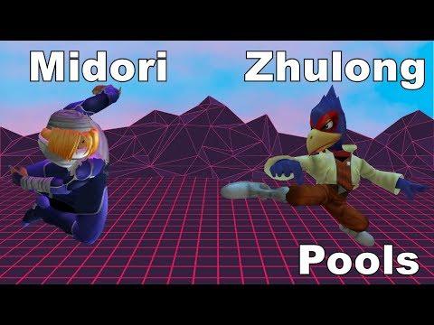 Midori vs Zhulong - Quartered 4 - Singles - Pools