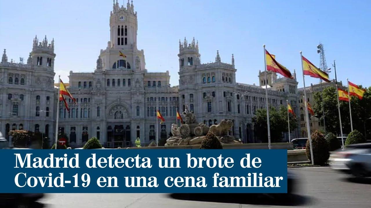 Madrid detecta un brote de Covid en una cena familiar que afecta a cinco comunidades