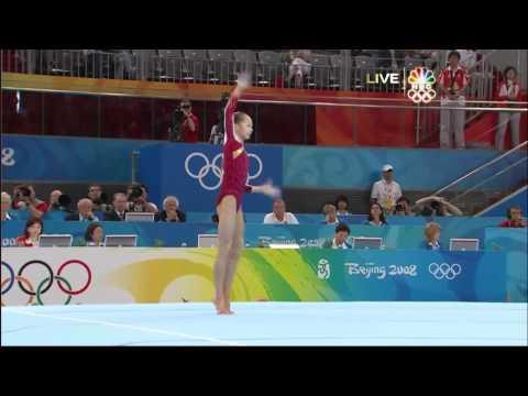 Yang Yilin - Floor Exercise - 2008 Olympics All Around