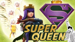 FARM WALLS FAST! Best upgrade strategy = Super Queen + Valkyrie for Th9, Th10, & Th11