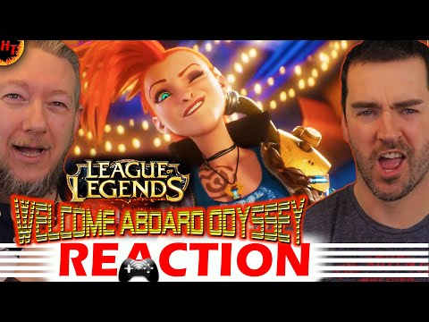 Welcome Aboard: Odyssey Animated Trailer - League of Legends REACTION
