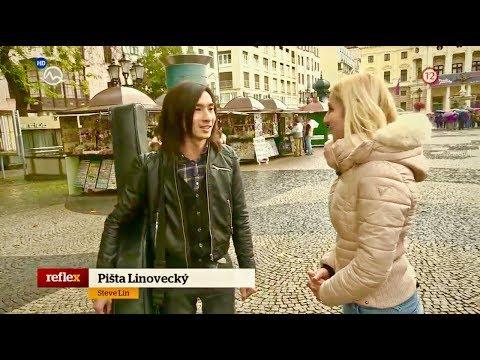 TV interview in Slovakia - Markíza Reflex