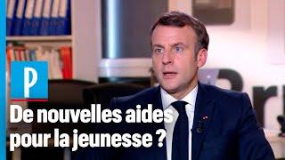Emmanuel Macron veut « regarder comment améliorer le système de bourse »