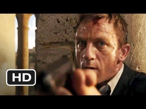 Quantum of Solace Movie CLIP - Scaffolding Fight (2008) HD