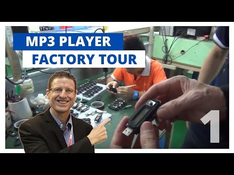 Inside a Famous MP3 Player Factory - Part 1