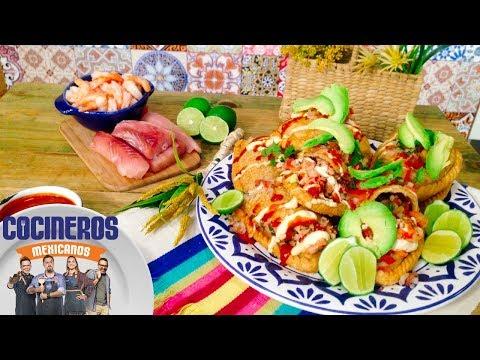 Receta: Empanadas fritas de pescado y camarón | Cocineros Mexicanos