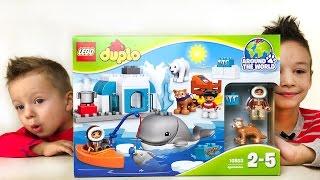 Lego Duplo обзор конструктора 10803 серии Around The World Видео для детей Развивающее Видео