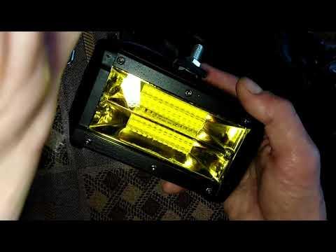 LED противотуманные фары ВАЗ 2109