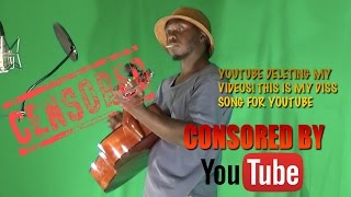YouTube DELETING My Videos!! Here's my Concert Song for Censorship