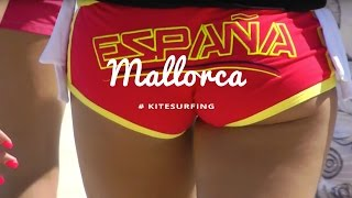 Mallorca Kitereisen: Kitesurfen am Ballermann 6 by kitereisen.tv