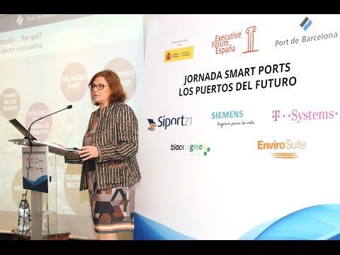 Dña.Catalina Grimalt, Subdirectora General de Organización del Port de Barcelona - SMART PORTS