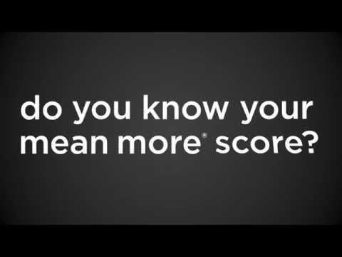 Mean More® Score
