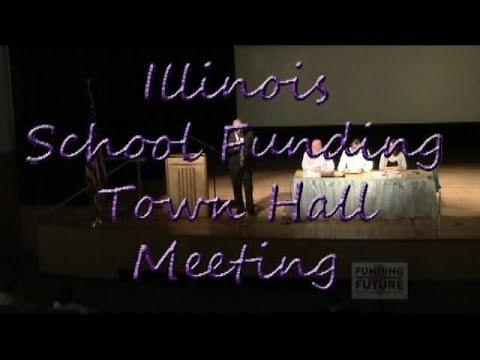 Illinois School Funding Formula Town Hall Meeting 7 18 2017