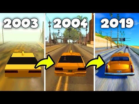 How GTA San Andreas Changed Over The Years 2003-2019