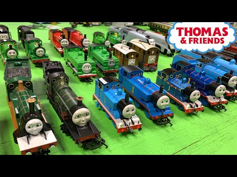HORNBY vs BACHMANN THOMAS & FRIENDS LOCOMOTIVES – My HO/OO Scale Collection