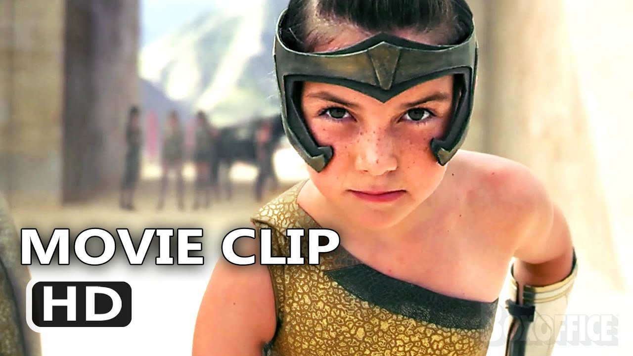 WONDER WOMAN 1984 Kid Diana Scene (NEW 2020) Wonder Woman 2, Gal Gadot Action Movie
