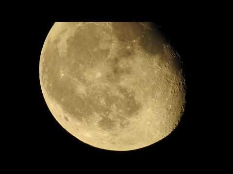 Альдебаран вблизи Луны 17 октября 2019 года, три угловых градуса