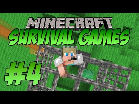 I TRAPPED MYSELF!! Minecraft Survival Games