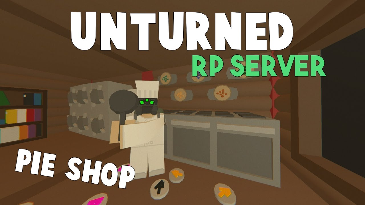 how to make your own unturned server on mac