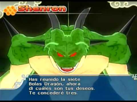 Dragon Ball Z Budokai Tenkaichi 3 Version Latino *Shenlong* *Porunga* *Shenlong Rojo* Videos De Viajes