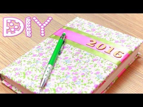 Cмотреть видео Как украсить Простой Ежедневник (Дневник) / DIY Decorating Diary   NataliDoma