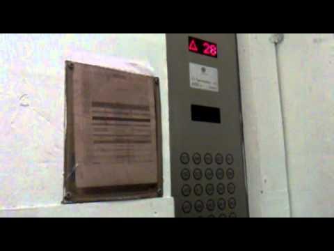 Москва сити лифт 11/10/2011 Башня Федерация Запад