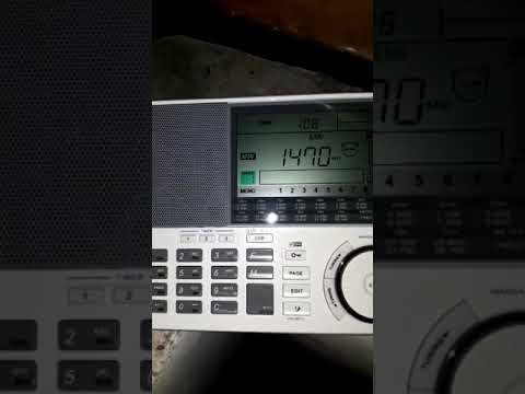 Radio Capital (PRU) 1470 khz LSB Sangean ATS-909x desde Mendoza (ARG)