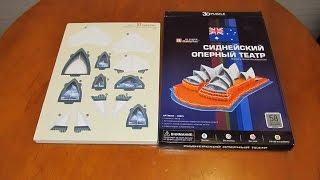 Обзор покупки 3D puzzle от CubicFun