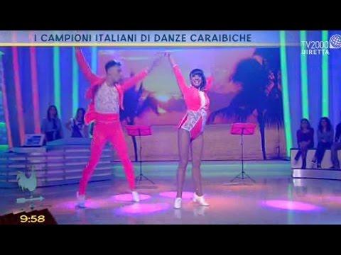 I campioni italiani di danze caraibiche