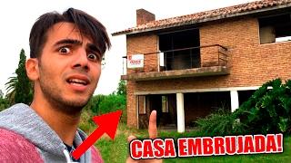 ENTRÉ A LA CASA EMBRUJADA!!