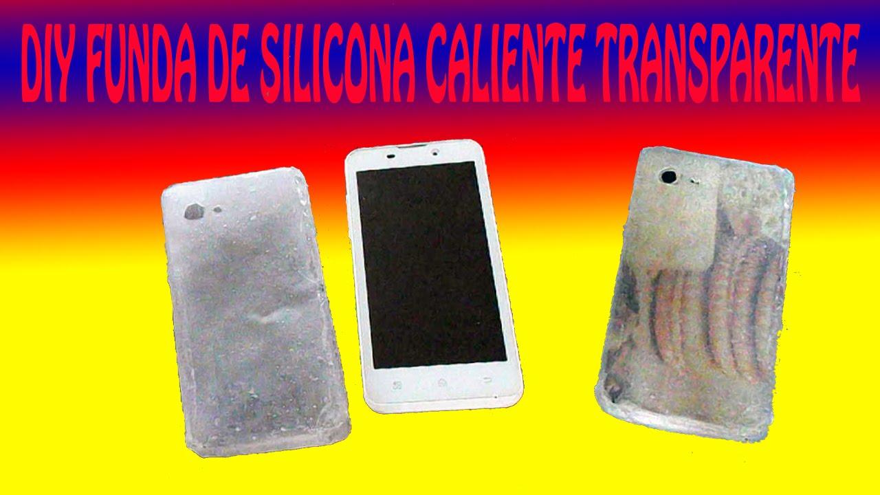4b0737568ed DIY FUNDA DE CELULAR CON SILICONA CALIENTE by T-Clan