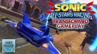 Sonic & All-Stars Racing Transformed: CORSE DA SEGA! - Gameplay ITA