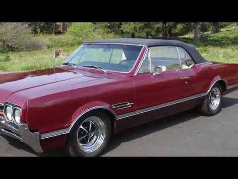 1966 Oldsmobile Cutlass 442 Convertible - For Sale - YouTube