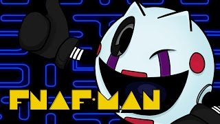 PAC-MAN DE FIVE NIGHTS AT FREDDY'S | iTownGamePlay