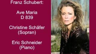 Schubert: Ellens Gesang III, Ave Maria D 839 - Christine Schäfer