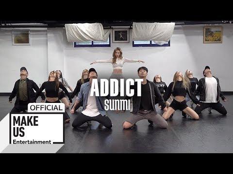 Choreography Practice SUNMI 'ADDICT' Dance Practice