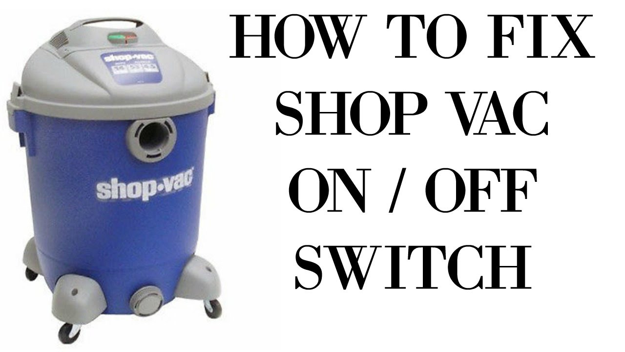 Diy Shop Vac On Off Switch Hack Youtube Diagram