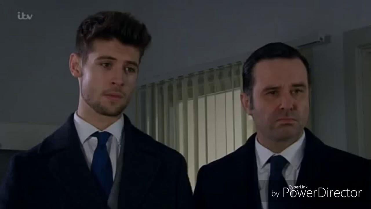 Emmerdale - Joe and Graham Visit Ross (9th February 2018)