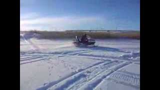 видео Двигатель для снегохода Буран 680 куб/см двухцилиндровый 4-х тактный мощностью 32 л.с. с электростартом