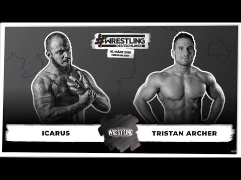 Icarus vs. Tristan Archer (GWP) #WrestlingDeutschland 10.03.2018 Mp3