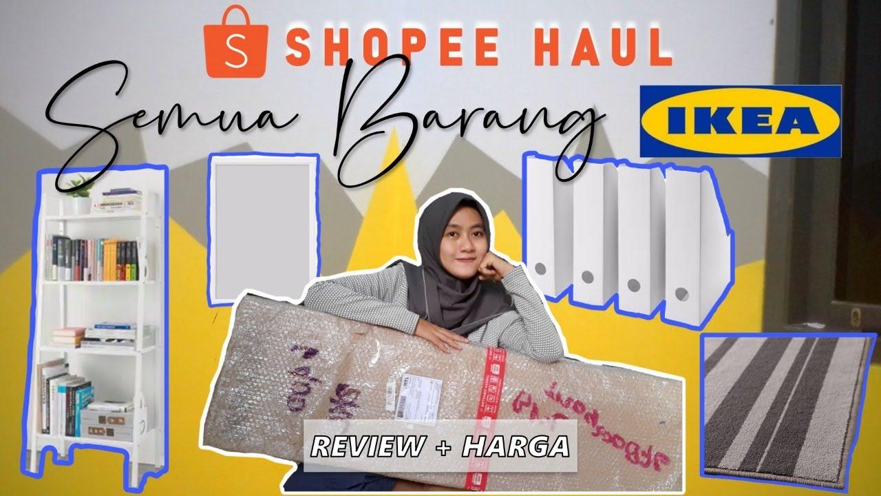 SHOPEE HAUL INDONESIA FURNITURE IKEA || Minimalist Bedroom ...